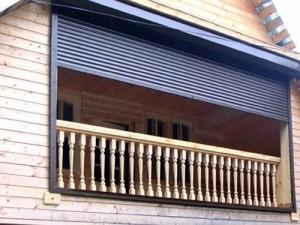 Рольставни на балкон, лоджию-3