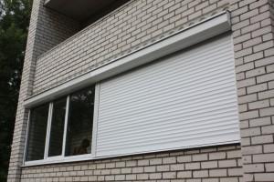 Рольставни на балкон, лоджию-4