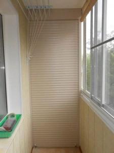 Рольставни на балкон, лоджию-5