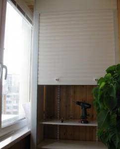 Рольставни на балкон, лоджию-6
