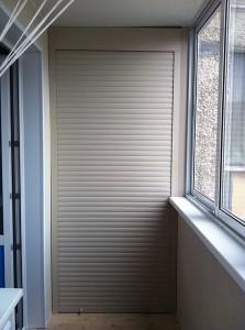 Рольставни на балкон, лоджию-7
